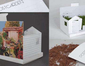 Postcarden: A Mini Living Backyard Garden