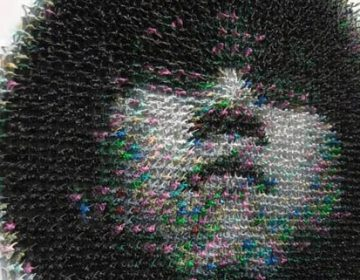 Made in China | A Portrait Using 5,500 Toy Soldiers