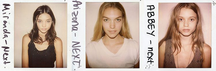 Wild Things: Victoria's Secret Angels without Make-up