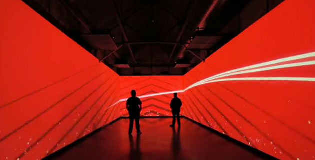 Coca-Cola's 125th Anniversary Exhibition's Future Room