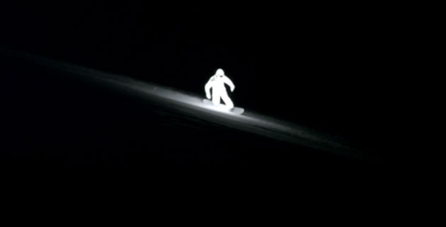LED Snowboarder