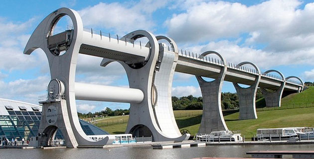 Falkirk Wheel Of Scotland