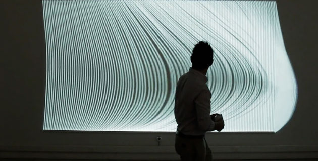Nervous Structure – Interactive Installation