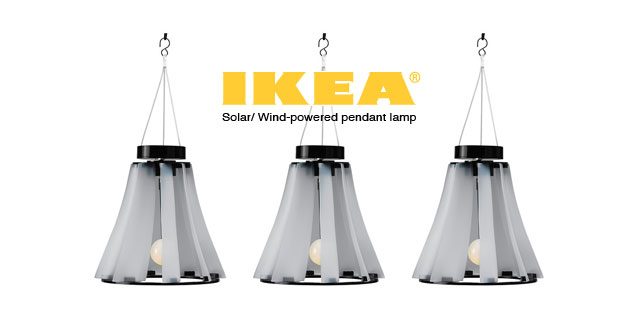 Solvinden: Solar/Wind powered Lamp