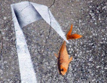 Banksy Origami