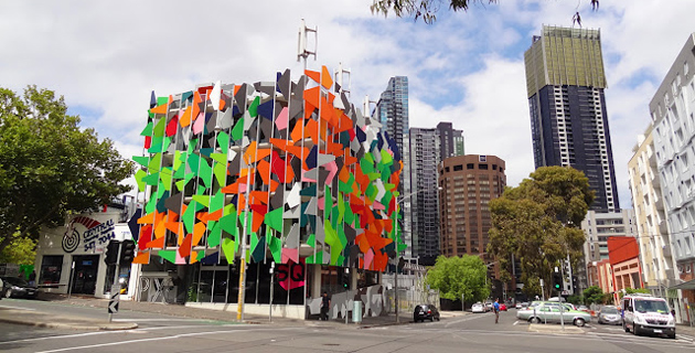 Pixel Building in Melbourne