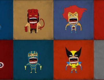 Screaming Superheroes