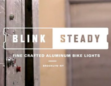 Blink/Steady bike light