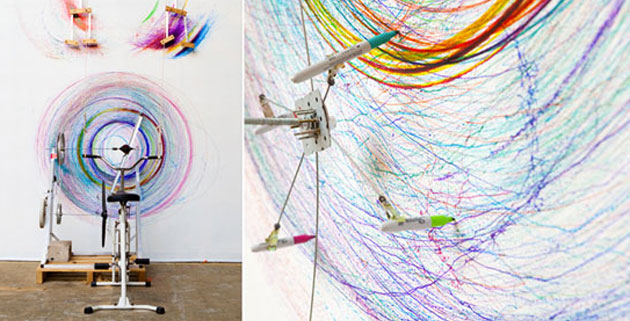 Drawing machine #1 by Joseph Griffiths