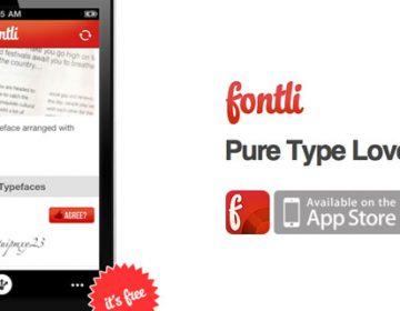 Fontli | Typography APP