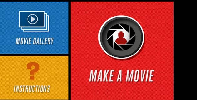 LEGO Movie Maker App
