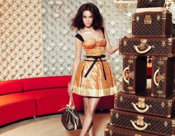 Louis Vuitton limited edition Sari Dress | Marc Jacobs