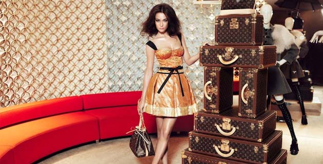 Louis Vuitton limited edition Sari Dress | Marc Jacobs
