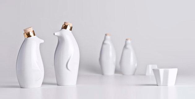 Pinguin tableware | Luiz Pellanda & Aleverson Ecker