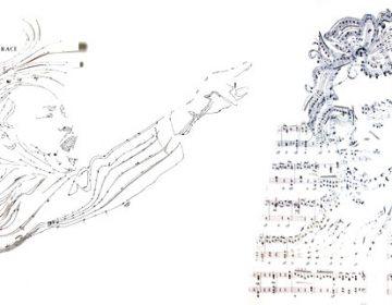 Sheet Music Collages | Erika Iris