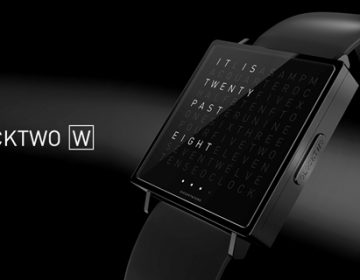 QLOCKTWO W   Time in Words