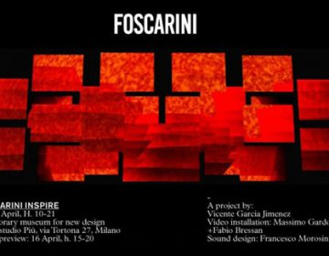 FOSCARINI INSPIRE – Milan Design Week 2012