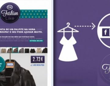 C&A Display Facebook Fashion Likes