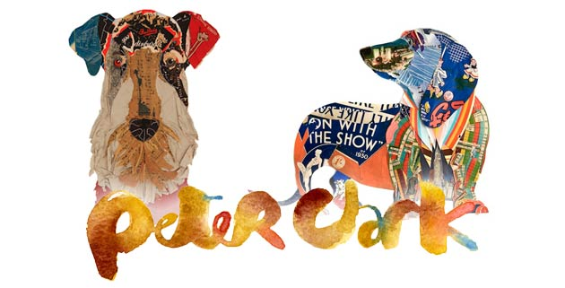 Dogs collages | Peter Clark