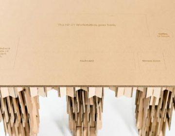 HP Cardboard Workspace