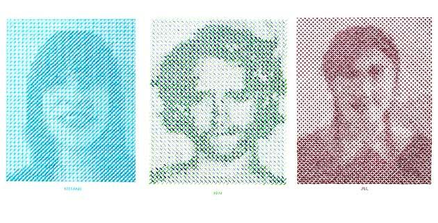 Stitched Portrait Project | Evelin Kasikov