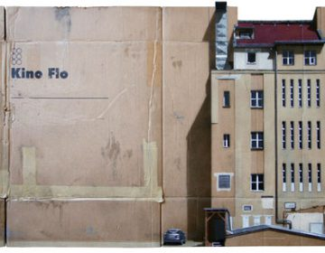 Urban Cityscapes Painted on Cardboard | EVOL
