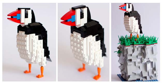 LEGO Bird Series by DeTomaso