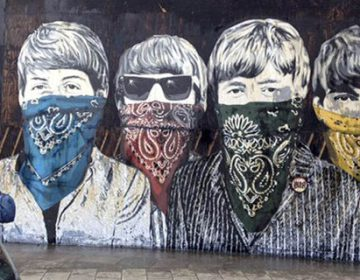 Mr. Brainwash New Murals In London