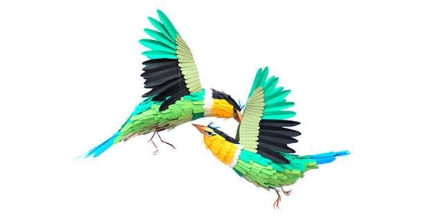 Paper Birds | Diana Beltran Herrera