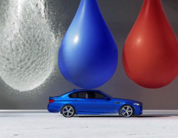 BMW M5 | Bullet Art