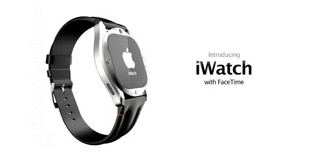 Concept Design For Apple iWatch