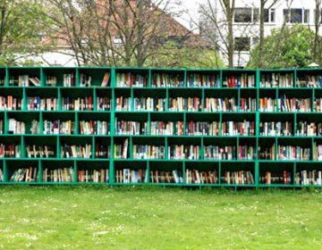 Bookyard Outdoor Public Library