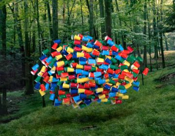 Flying Swarms of Everyday Objects | Thomas Jackson