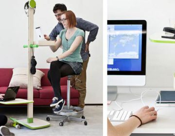 NINO flexible office system