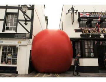 The RedBall Project – Video Timelapse