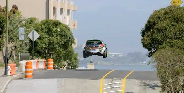 Gymkhana FIVE | Ultimate Urban Playground –  San Francisco