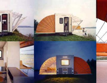 Temporary Living Caravan
