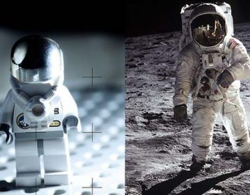 Famous Photographs reinterpreted with LEGO