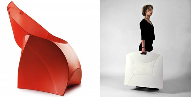 Flux Chair | foldable furniture