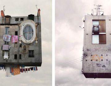 Flying Houses | Laurent Chéhère