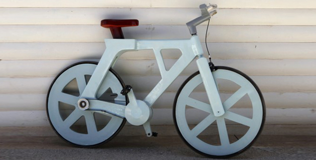 Izhar cardboard bike project