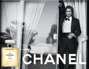 THERE YOU ARE | Brad Pitt for Chanel n°5