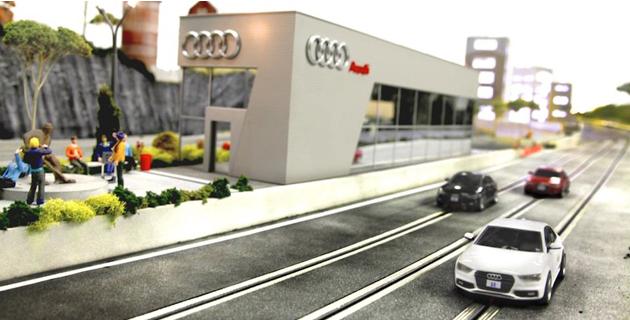 Audi Quattro Experience Race