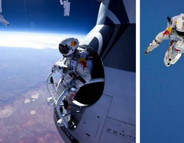 the RED BULL STRATOS – MISSION SUCCESS