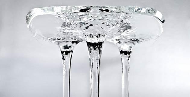 Liquid Glacial Table | Zaha Hadid