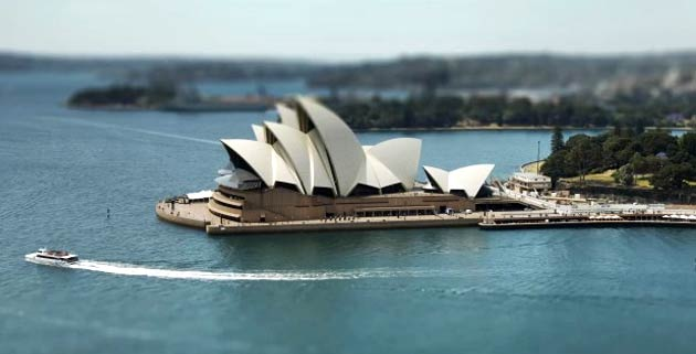 Sydney Tilt-Shift