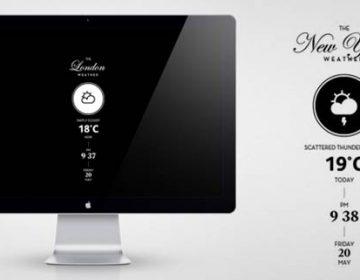 the Weather – Mac screensaver