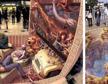 3D Street Art | Kurt Wenner