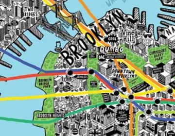 NYC hand-drawn Map