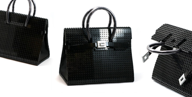 Hermés Birkin Bag made with LEGO